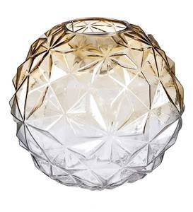 Glowing Glass Globe with Moving Light, Small