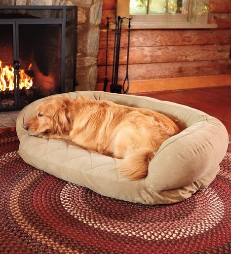 "Extra Large 48""L x 36""W Quilted Pet Bed"