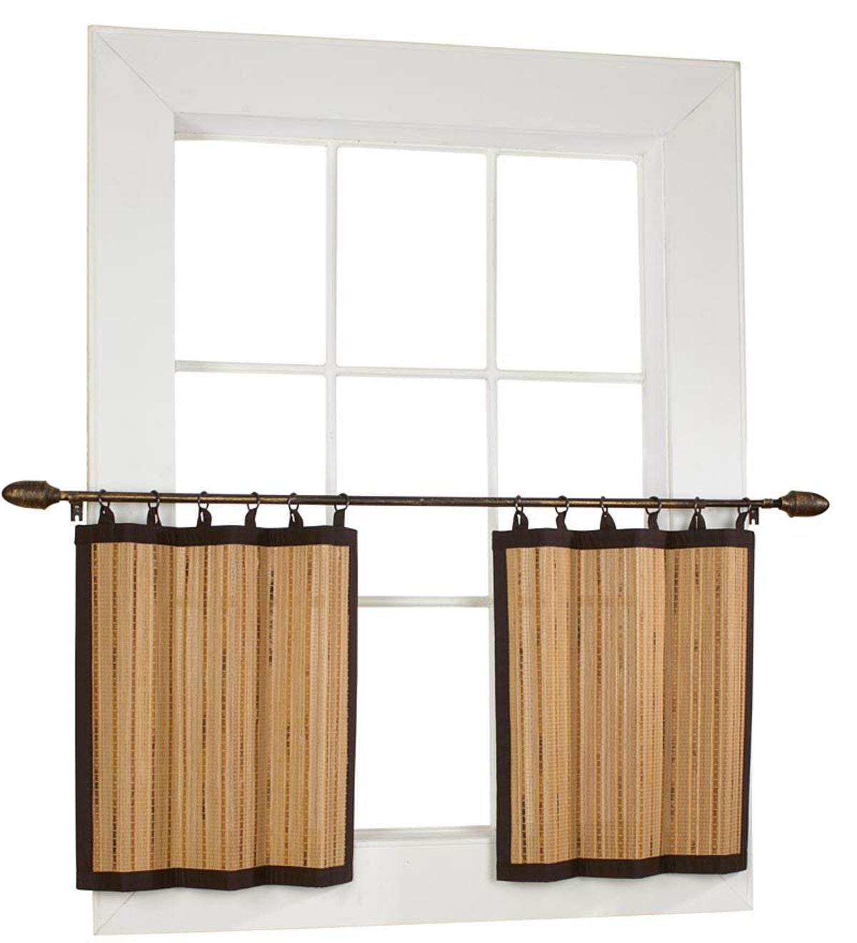 Easy Glide Bamboo Valance Eligible For Promotions