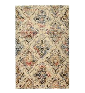 Siena Medallion Polypropylene Area Rug