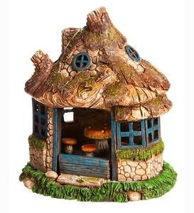 Lighted Fairy Village House
