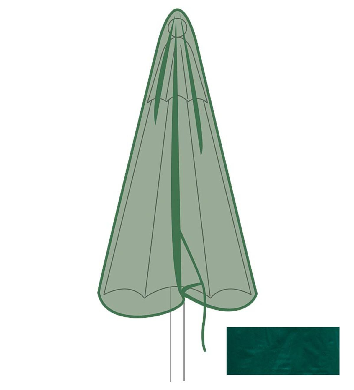 Classic Outdoor Market Umbrella Cover - Green