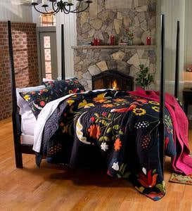 Ansley Folk Art Quilt Set