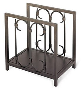 Iron Gate Wood Holder