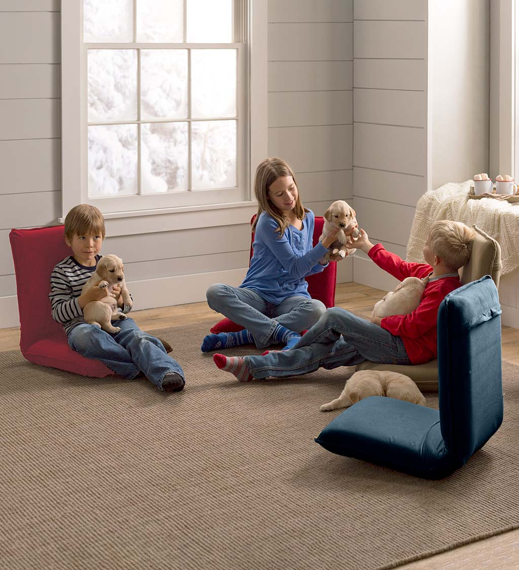 Multiangle Floor Chair with Adjustable Back