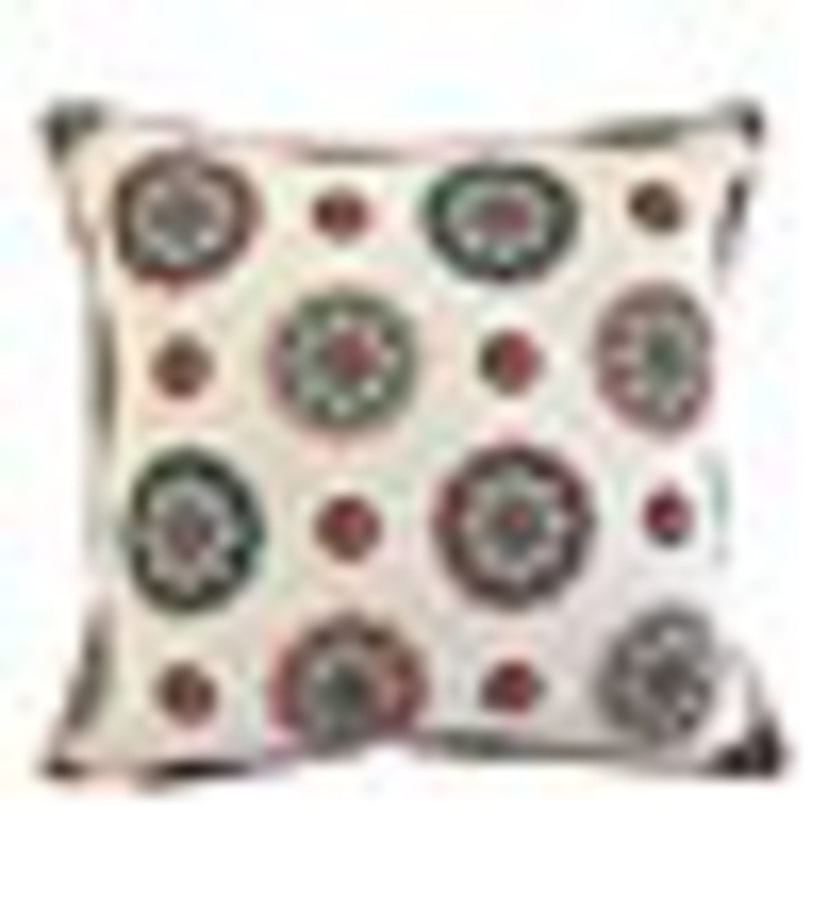 Ashton Cotton Embroidered Oblong Pillow