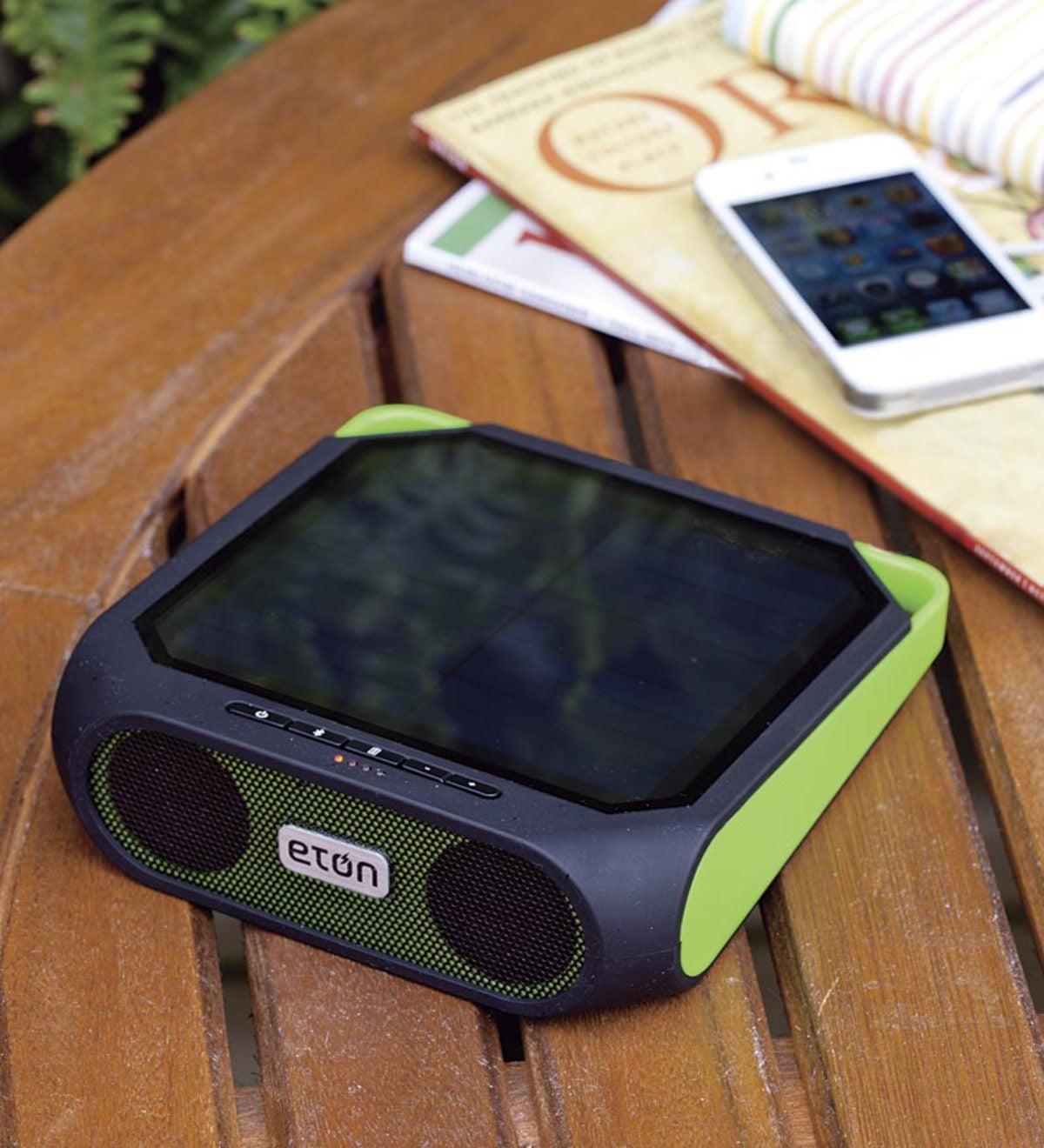 Solar Ed Eton Rugged Rukus Portable Wireless Stereo Speaker