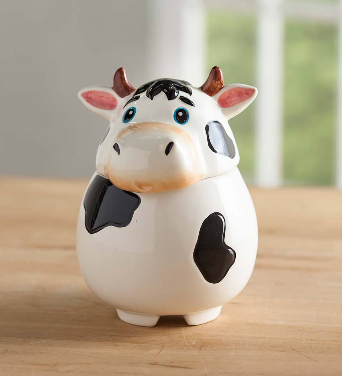 Ceramic Cow Fruit Fly Trap - Cow
