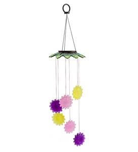 Solar Color-Changing Flower Mobile - Butterfly