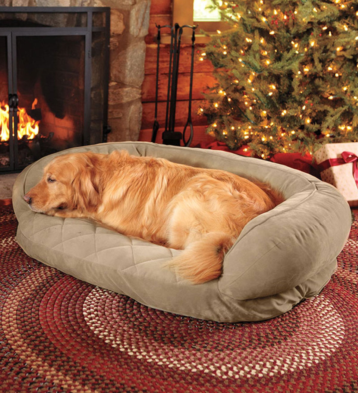 "Medium 36""L x 27""W Quilted Pet Bed"