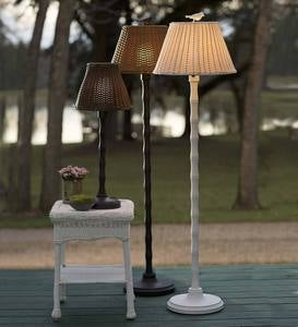 Waterproof Outdoor Wicker Lamp