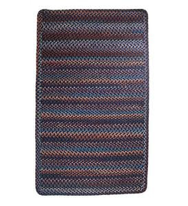 Blue Ridge Rectangle Wool Braided Rug, 8' x 11' - Moss Multi