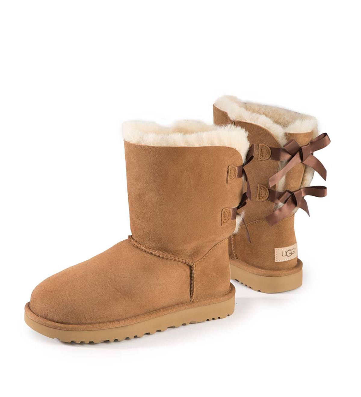 Bailey Bow II Boot - Chestnut - Size