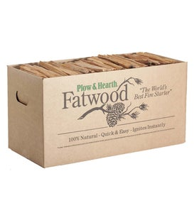 Fatwood Fire-Starter, 40 lb. Box