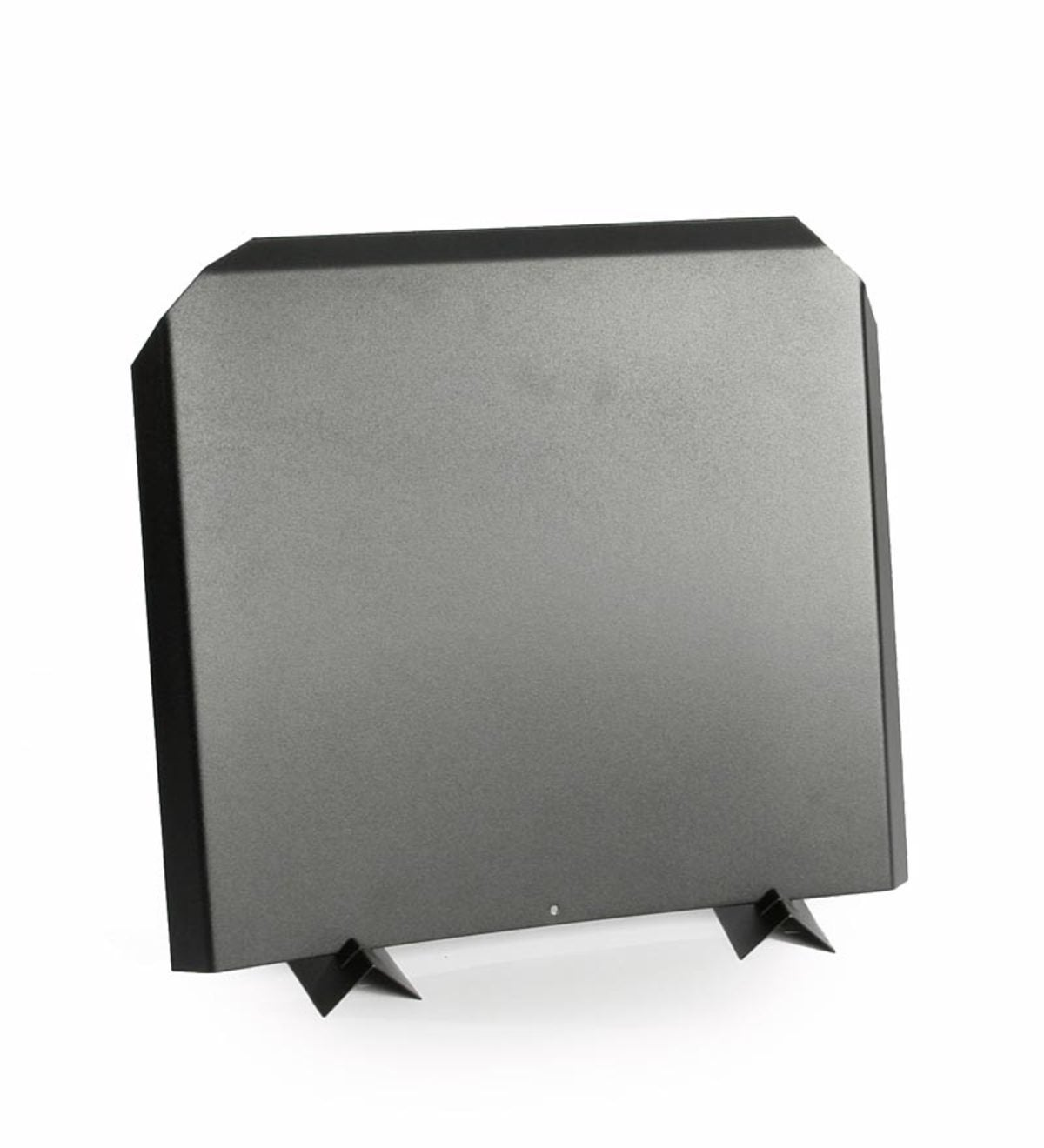 16-Inch Stainless Steel Fireback in Black Finish