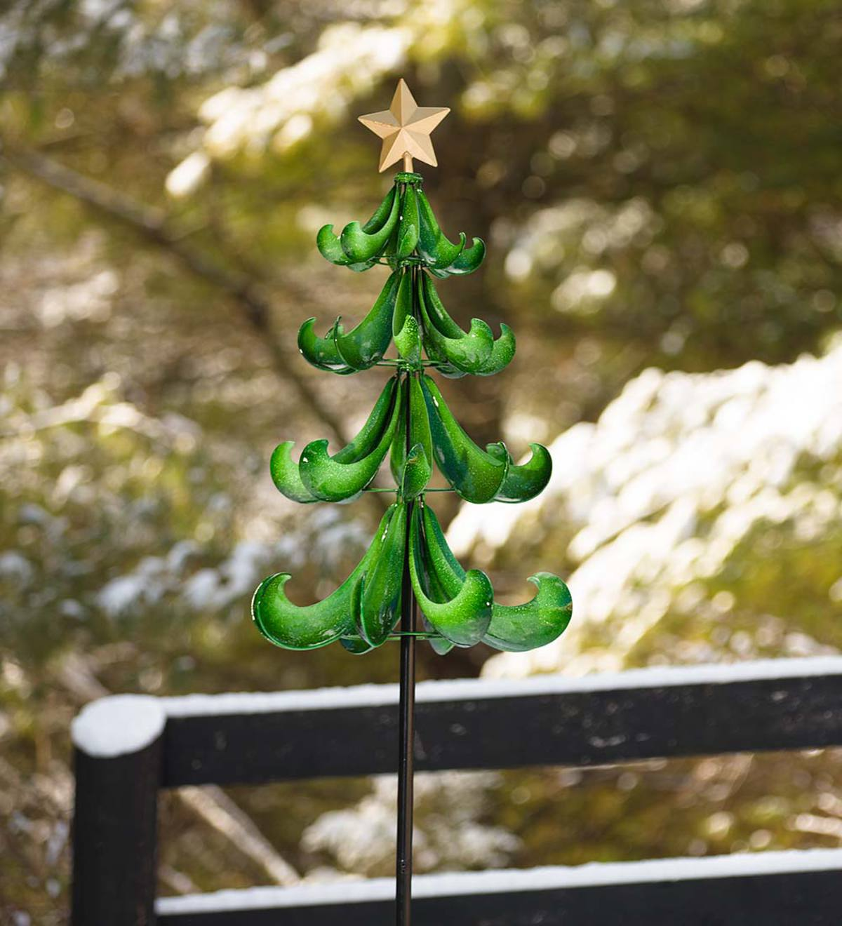 Christmas Tree Wind Spinner