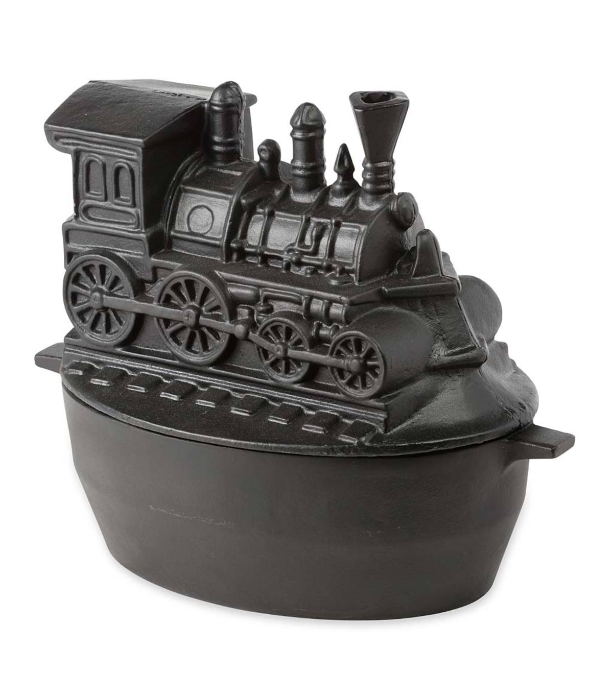 Nycrr Cast Iron Train: Cast Iron Woodstove Steamer Kettle / Humidifier In Train