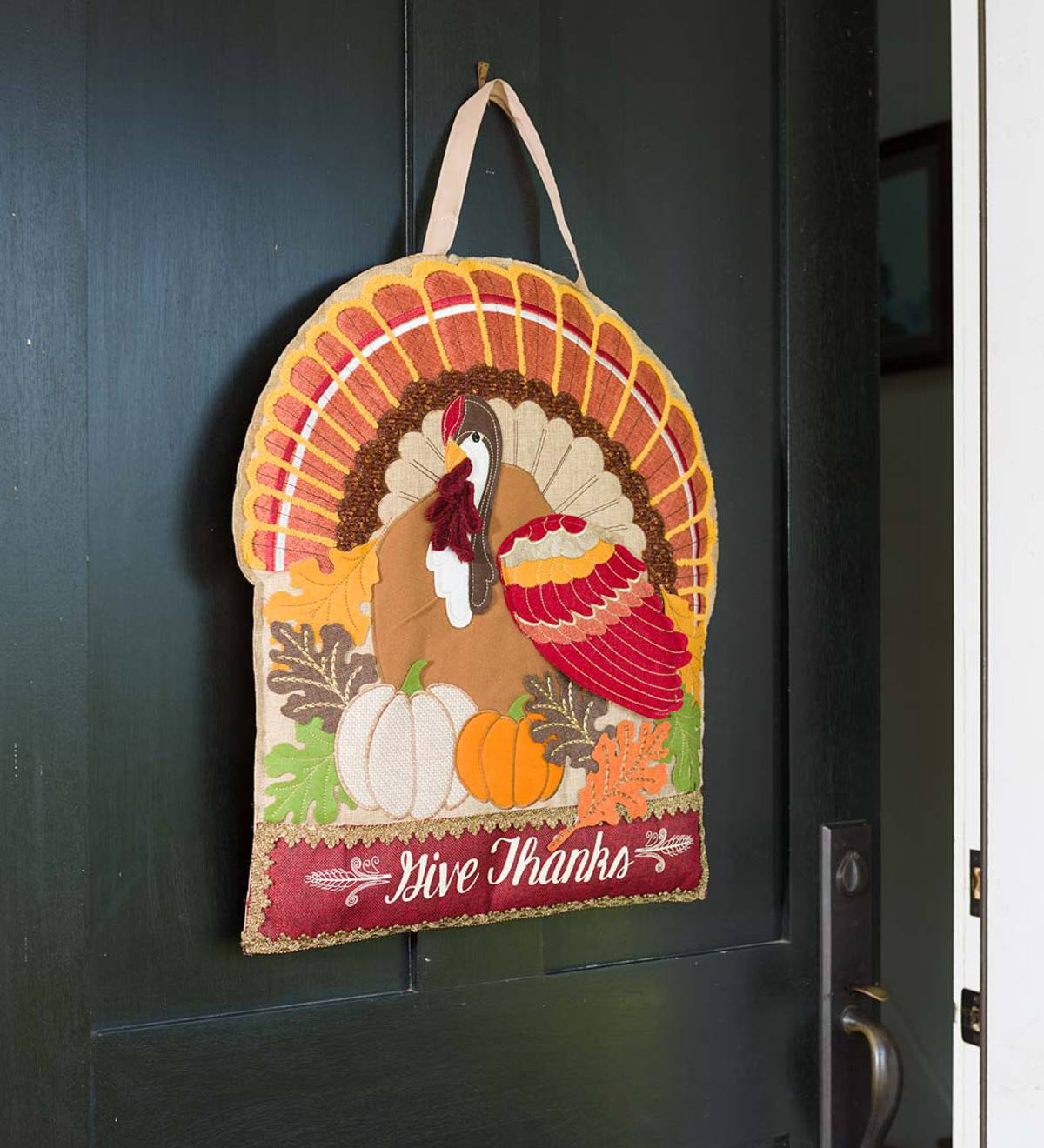 Give Thanks Thanksgiving Door Decor