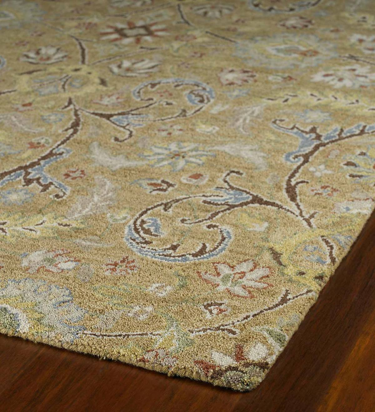 Meadow Fern Wool Rugs