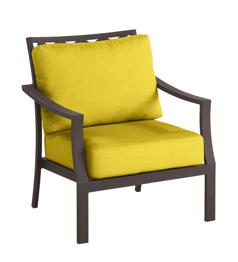 Topsail Deep Seating Chair with Cushions