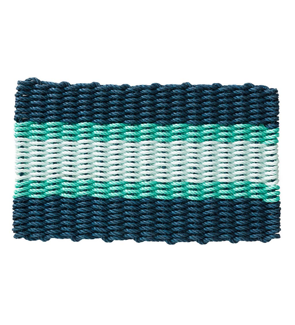 "Handwoven Polypropylene Door Mat, 18"" x 30"""