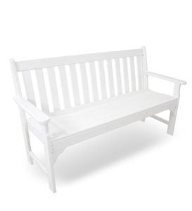 Made in America Poly-Wood™ Outdoor Vineyard Benches