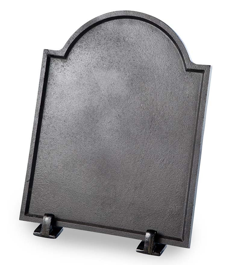 Cast Iron Plain Fireplace Fireback