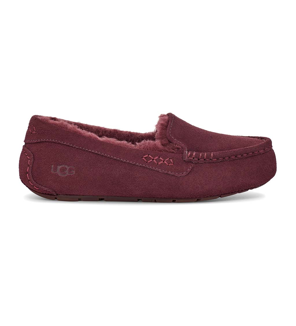 UGG Ansley Women's Suede Moccasin Slippers