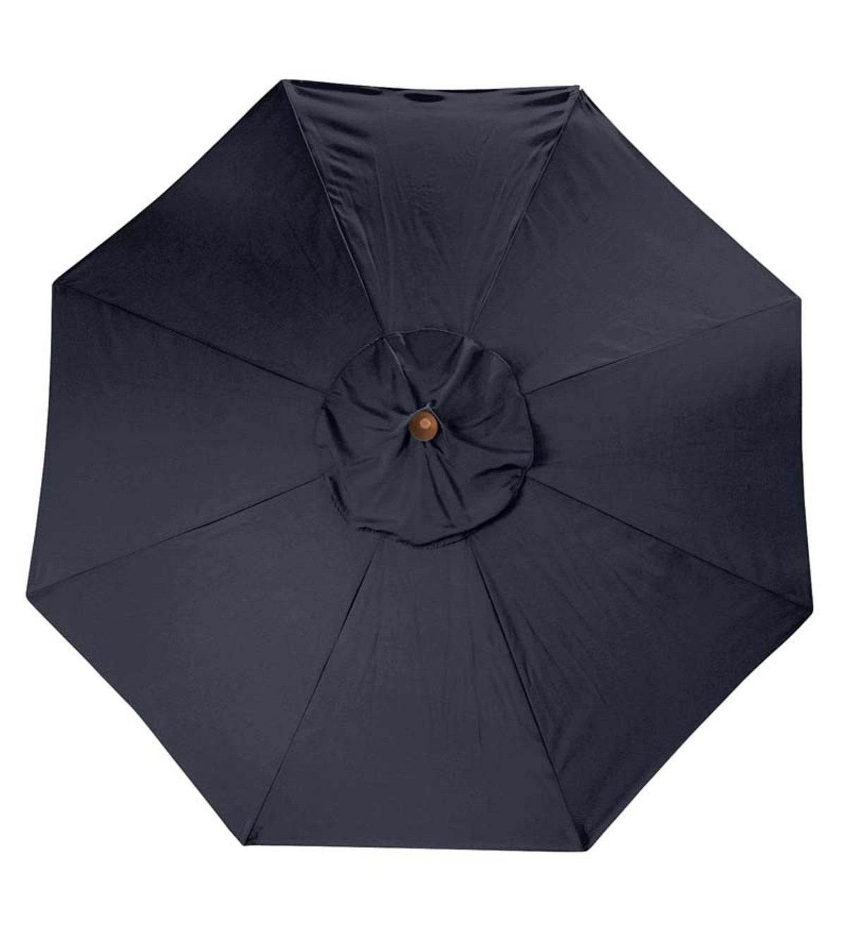 11' Deluxe Sunbrella™ Market Umbrella - Black