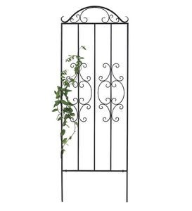 Burnished Bronze Finished Iron Montebello Trellises
