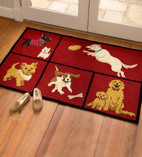 Dog Park Indoor/Outdoor Accent Rug