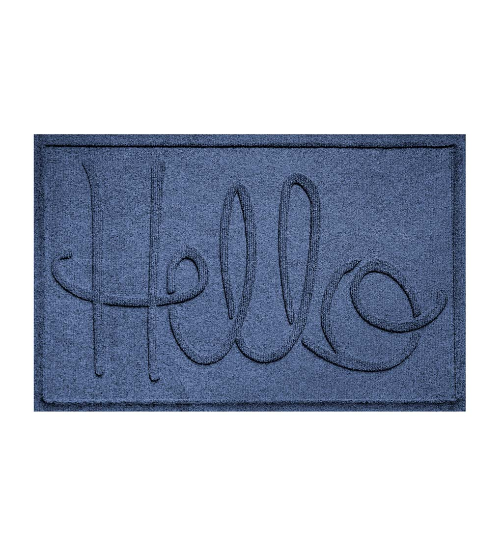 Waterhog Indoor/Outdoor Hello Doormat, 2' x 3'