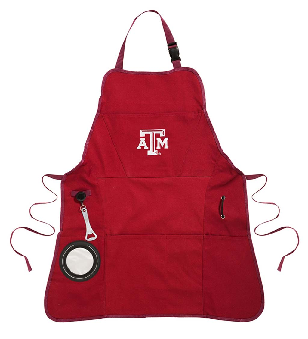 Deluxe Cotton Canvas College Team Pride Grilling/Cooking Apron