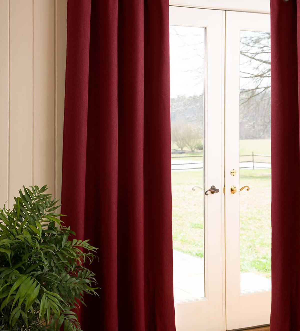 Madison Double-Blackout Back-Tab Curtain Pairs