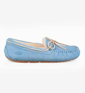 UGG Australia Womens Dakota Moccasin Slippers - Sky Blue - Size 9