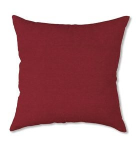 "Polyester Classic Throw Pillow, 18"" - Brick Red"