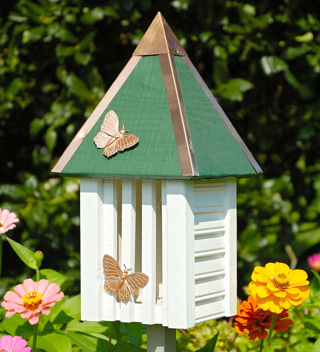 Flutterbye Cypress and Copper Butterfly House