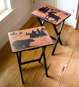 Wilderness TV Trays, Set of 2