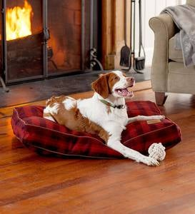 Ombre Plaid Pet Napper Pet Bed, Large