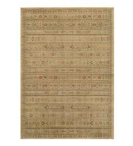 "3'11""x 5'7""Bellehaven High-Performance Polypropylene Woven Rug - Ivory"