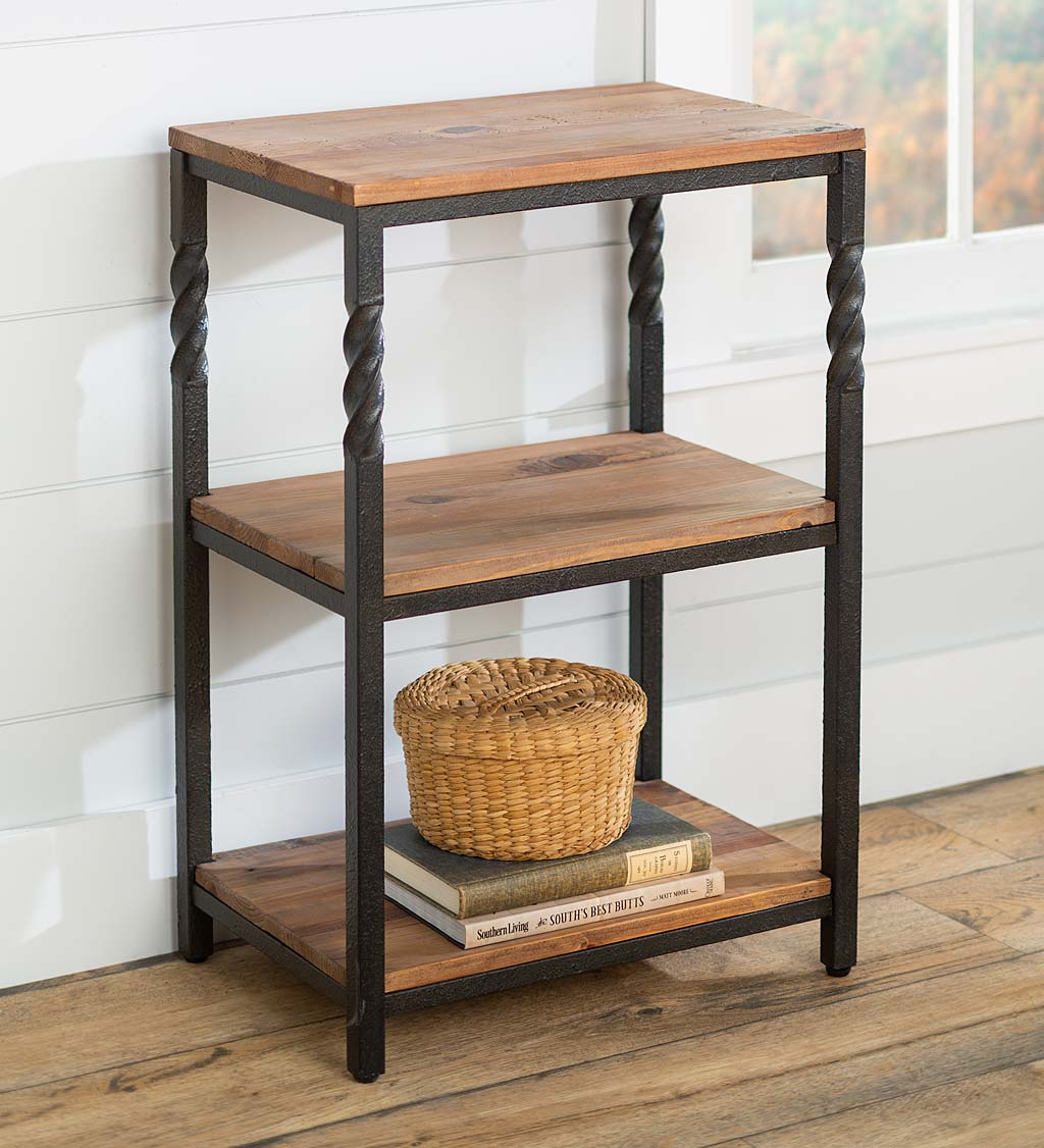 Deep Creek End Table with Shelves