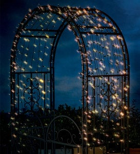 Solar String Lights with 400 White LEDs