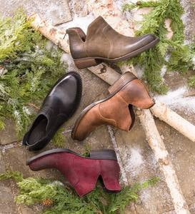 Born Leather Kerri Ankle Boot - Amarena