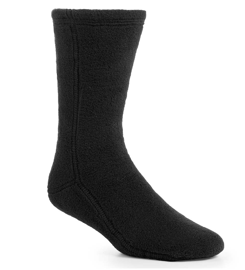 Acorn Fleece Socks in Solid Colors