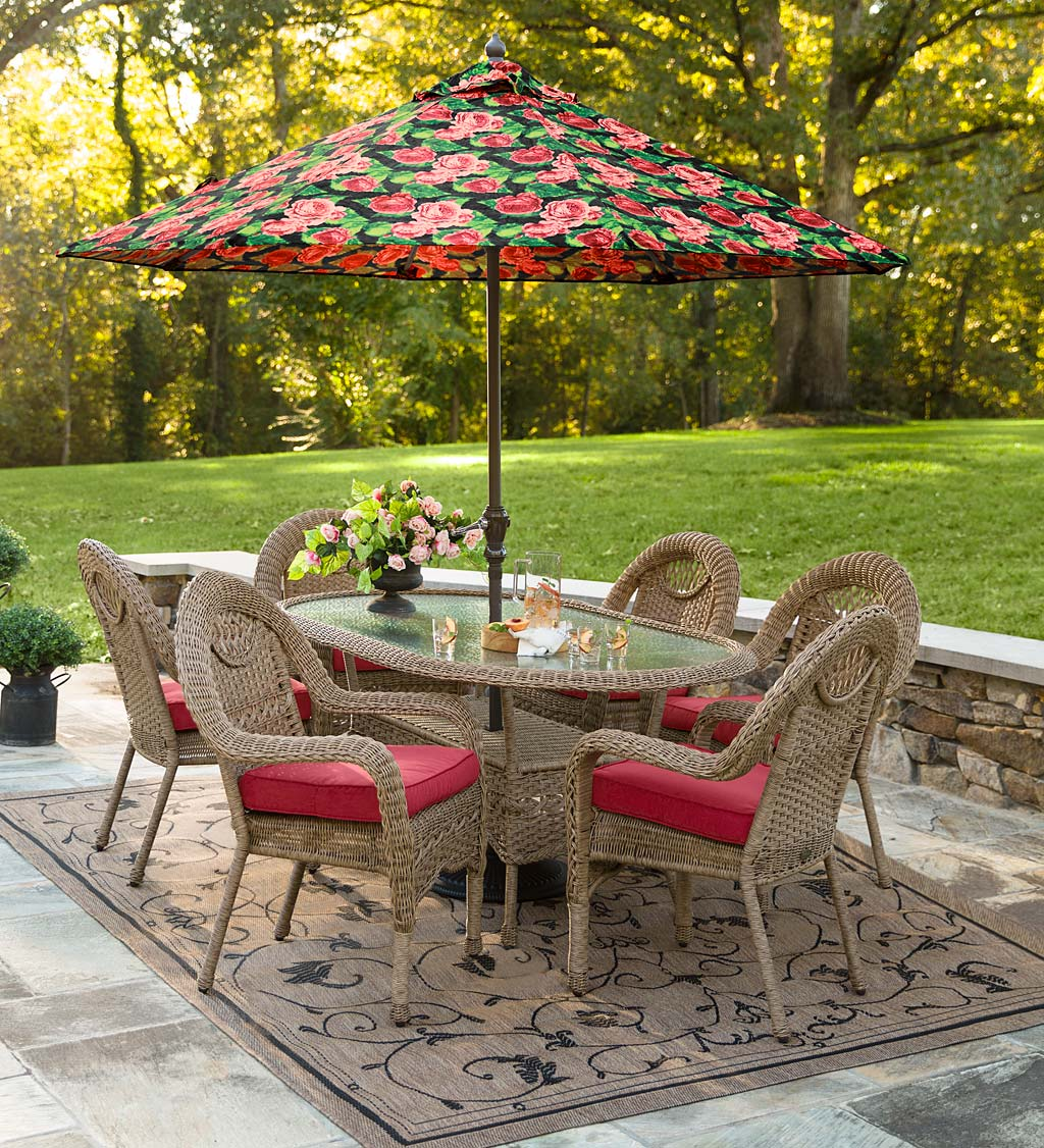 Prospect Hill Oval Dining Table and Chairs