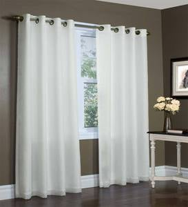 Thermovoile Lined Grommet-Top European-Style Voile Panels