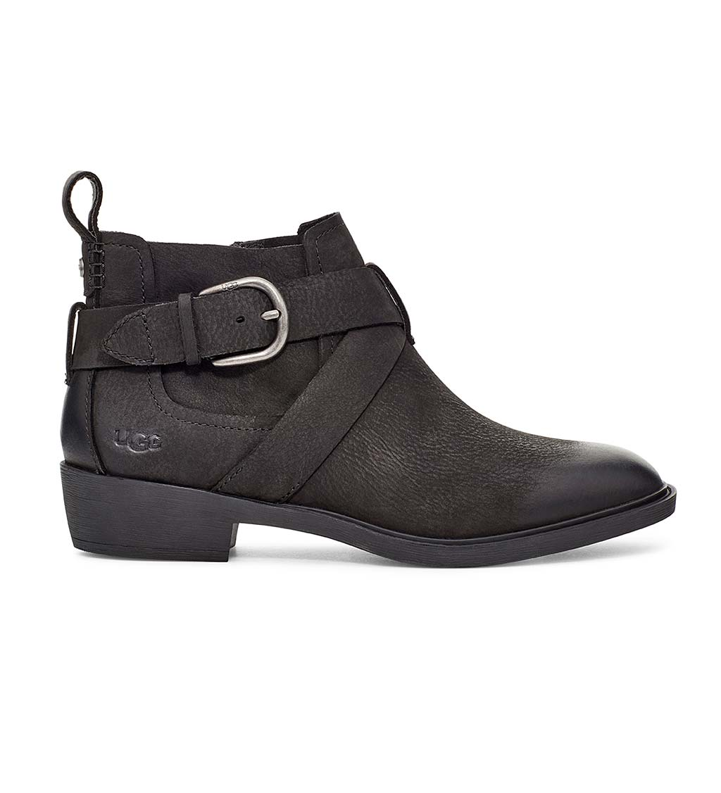 UGG Wylma Ankle Boots With Buckle