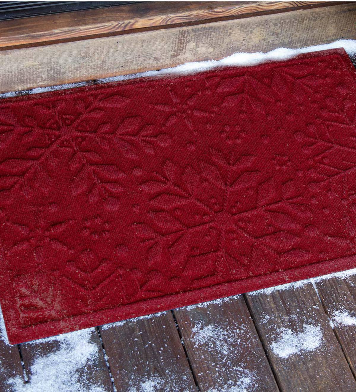 Waterhog Snowflake Doormat