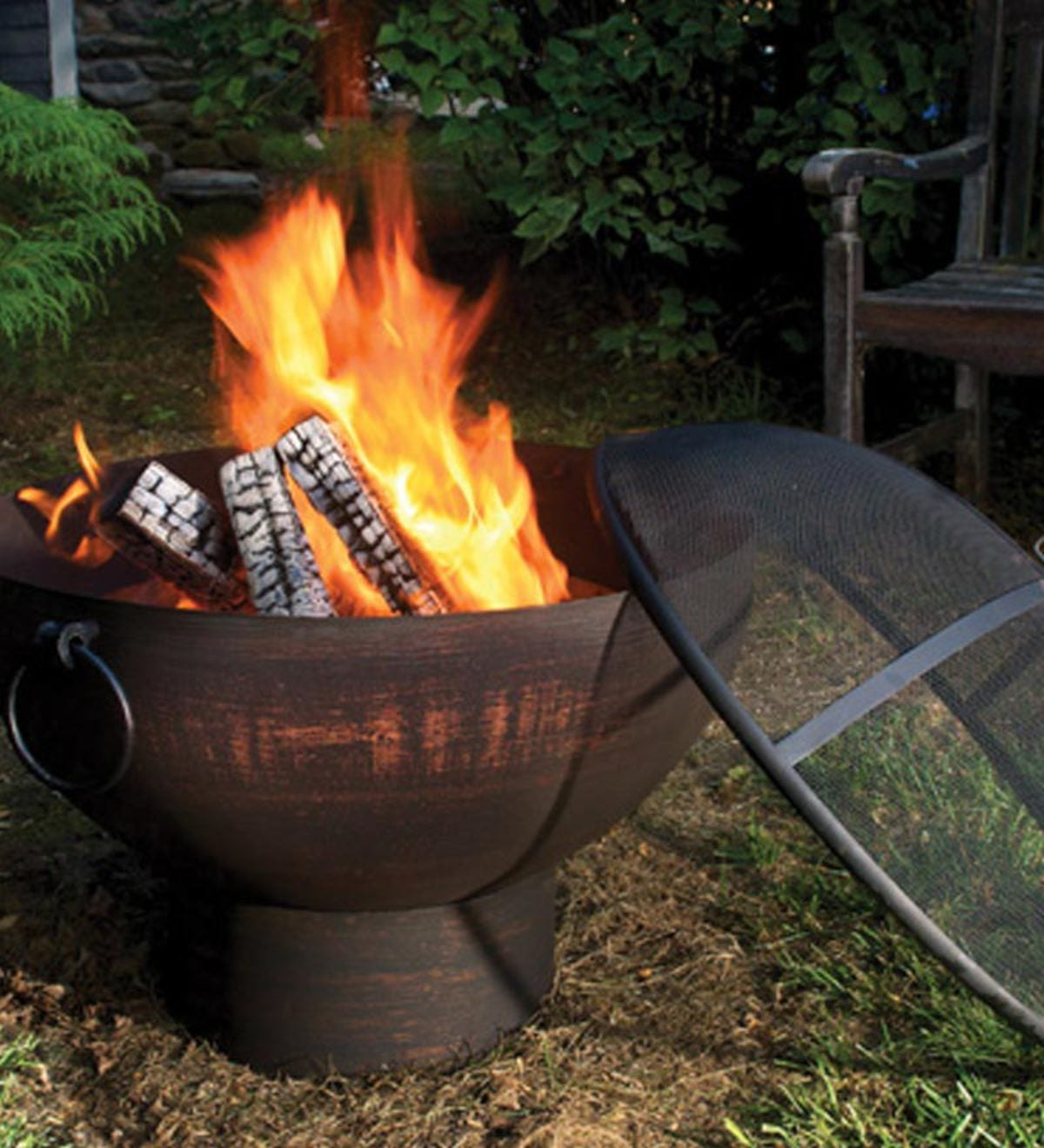 Weather Resistant Large Outdoor Fire Bowl Outdoor Fire