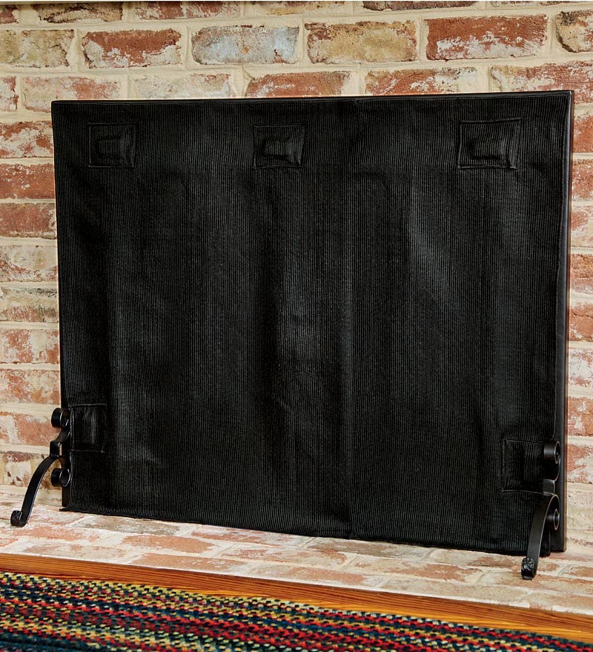 Hearth Covers: Large Pavenex® Fireplace Blanket Stops Overnight Heat Loss